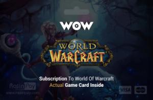 گیم تایم World of Warcraft EU