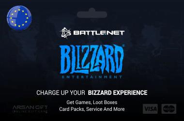 گیفت کارت Battle.net اروپا